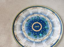 COLLECTABLE DISPLAY PLATE WEDGWOOD CALENDAR 2005 ZODIAC SIGNS EX COND 9""